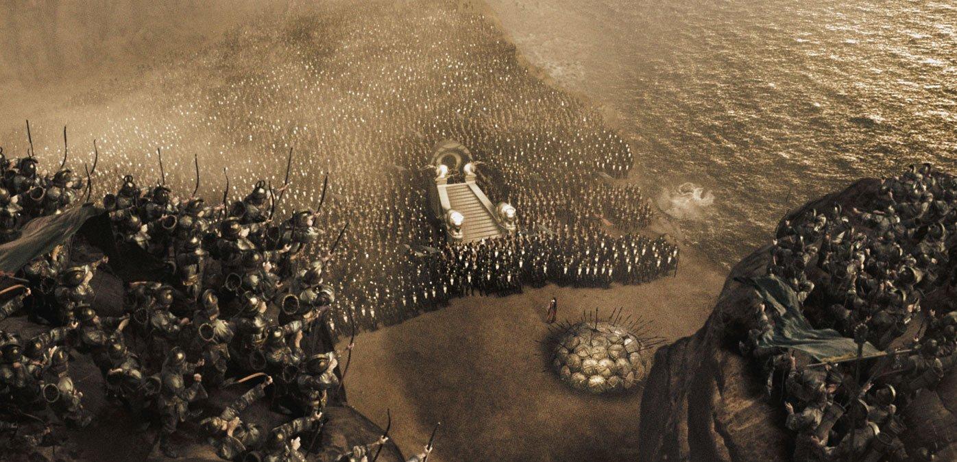 Дублированный трейлер 1 фильма 300 спартанцев: расцвет империи